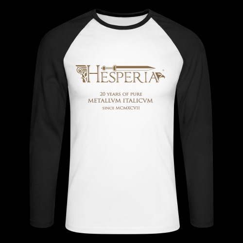 HESPERIA 20 years Anniversary - Men's Long Sleeve Baseball T-Shirt