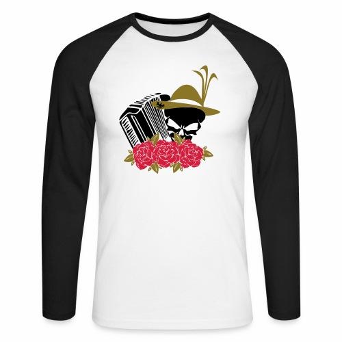 Rock Harmonika - Männer Baseballshirt langarm