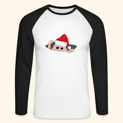 Baby Nikolaus - Männer Baseballshirt langarm