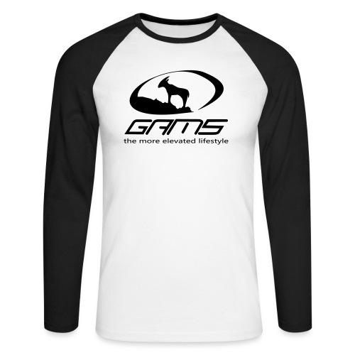 GAM5 - Männer Baseballshirt langarm