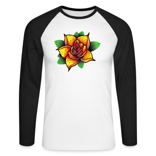 rose - T-shirt baseball manches longues Homme