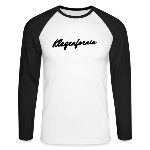 klagenfornia classic - Männer Baseballshirt langarm