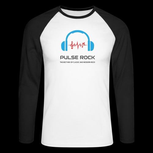 Pulse Rock T Shirt 2018 png - Men's Long Sleeve Baseball T-Shirt