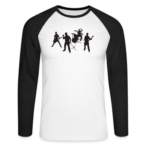Band - Männer Baseballshirt langarm