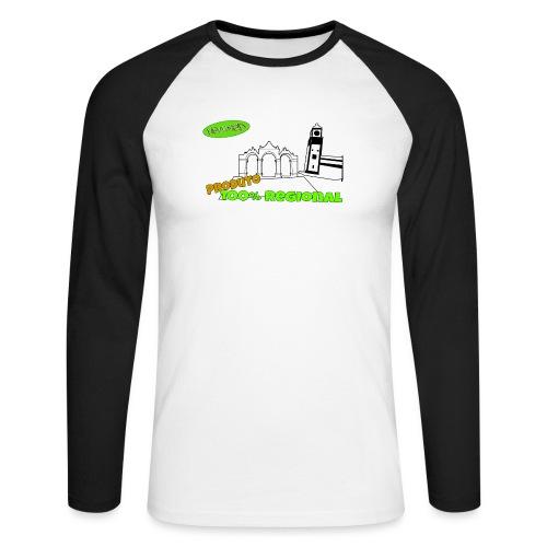 City Gates - Men's Long Sleeve Baseball T-Shirt