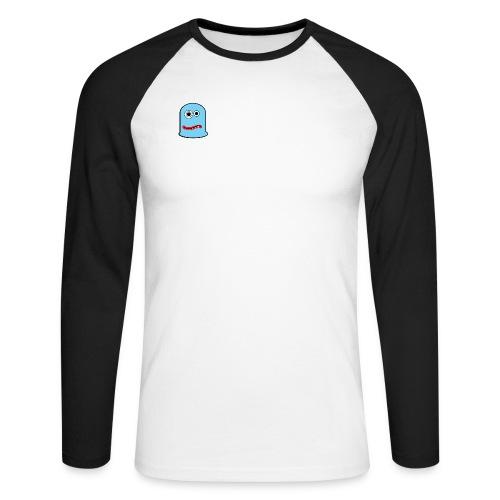 goofy character - Koszulka męska bejsbolowa z długim rękawem