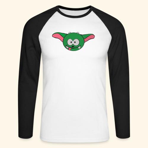 Die Schwarzwaldzwergschlammelfe sieht Dich! - Männer Baseballshirt langarm