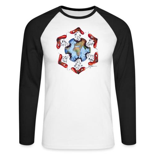 Égoïsme de l'être humain - T-shirt baseball manches longues Homme