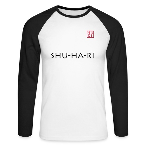 Shu-ha-ri HDKI - Men's Long Sleeve Baseball T-Shirt