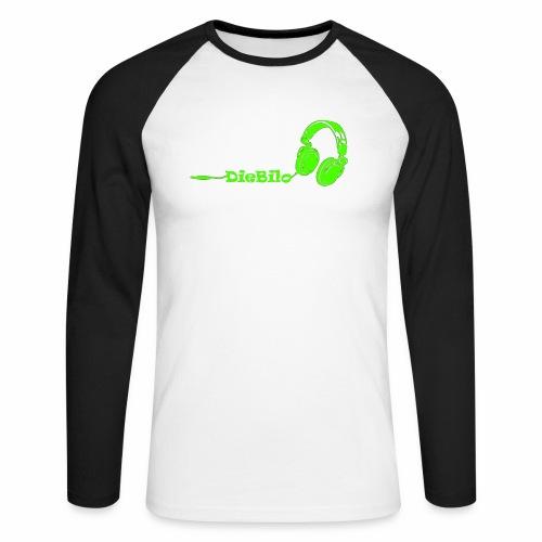 Grün png - Männer Baseballshirt langarm