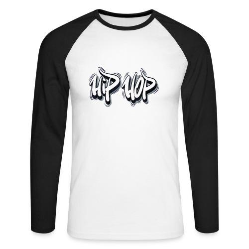 Hip Hop Graffiti Style - Langærmet herre-baseballshirt
