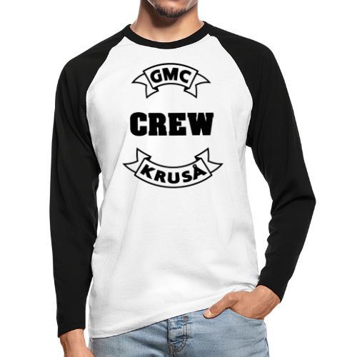 GMC CREWSHIRT - KUN FOR / CREW MEMBERS ONLY - Langærmet herre-baseballshirt