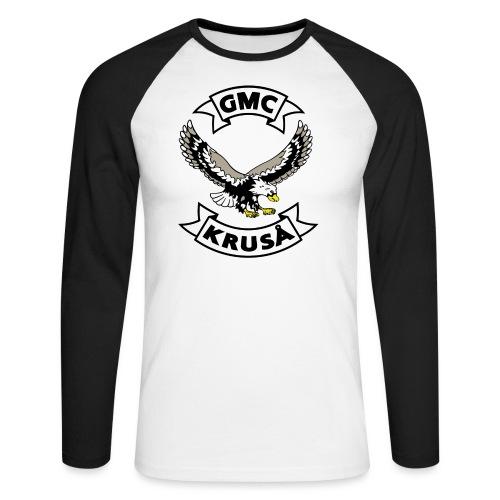 Kun GMC-medlemmer! - Kun for / kun til FULLMEMBER! - Langærmet herre-baseballshirt