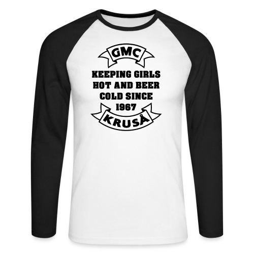 GMC HOLDING GIRLS HOT - Langærmet herre-baseballshirt