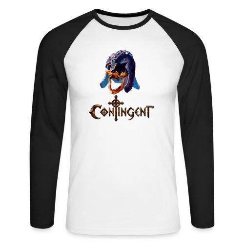 Contignent Logo - Men's Long Sleeve Baseball T-Shirt