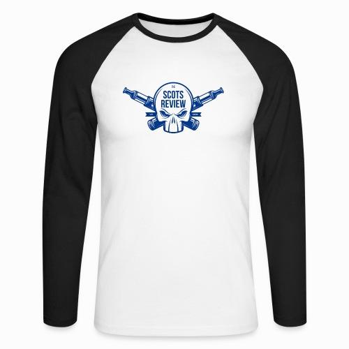 The Scots Review Classic Logo - Men's Long Sleeve Baseball T-Shirt