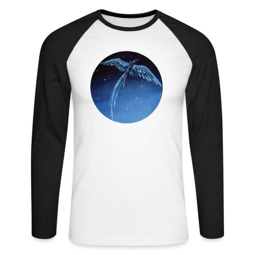 Oiseau Bleu 1 - T-shirt baseball manches longues Homme