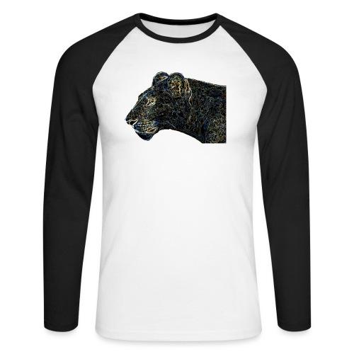 Lioness - Men's Long Sleeve Baseball T-Shirt