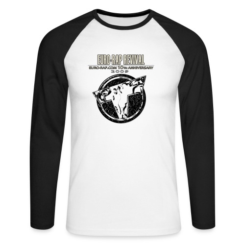 euroraprevivalmefchandise - Men's Long Sleeve Baseball T-Shirt