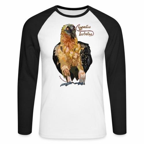Gypaetus barbatus - Männer Baseballshirt langarm