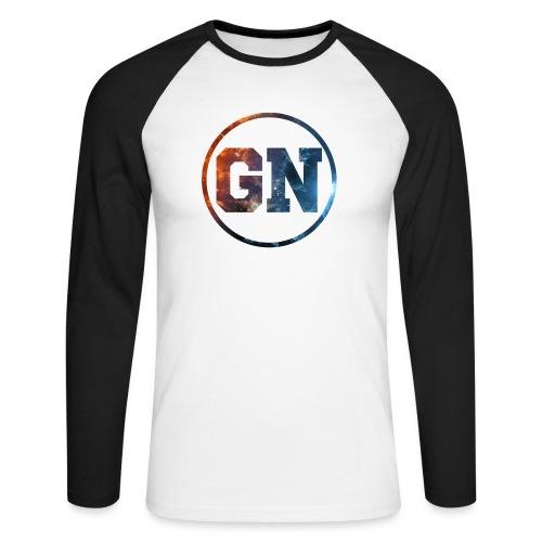 GainsNation galaxy - Långärmad basebolltröja herr