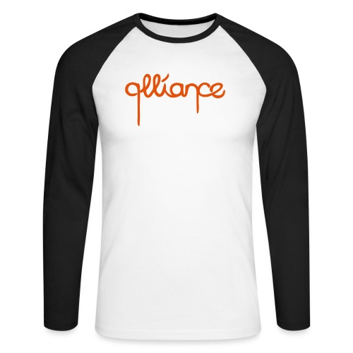 dripping_5 - Men's Long Sleeve Baseball T-Shirt