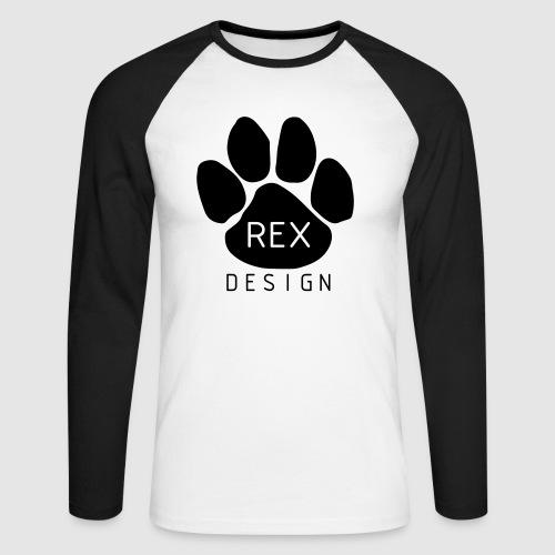 Rex Design - Men's Long Sleeve Baseball T-Shirt
