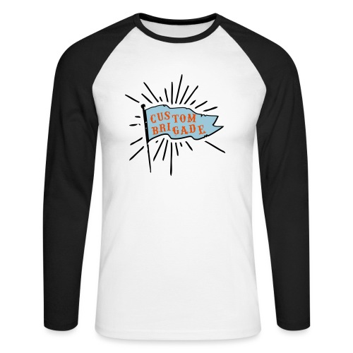 drapeau custom brigade - T-shirt baseball manches longues Homme