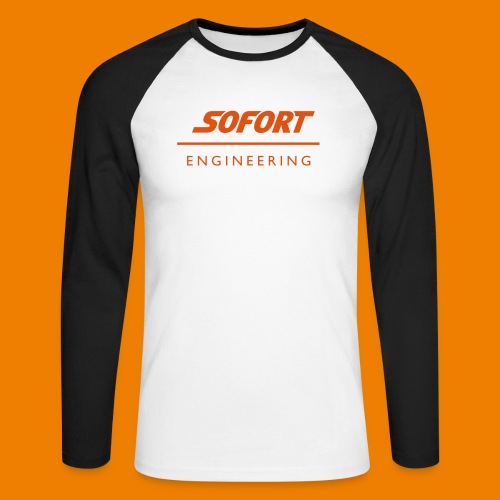SOFORT_engineering - Männer Baseballshirt langarm