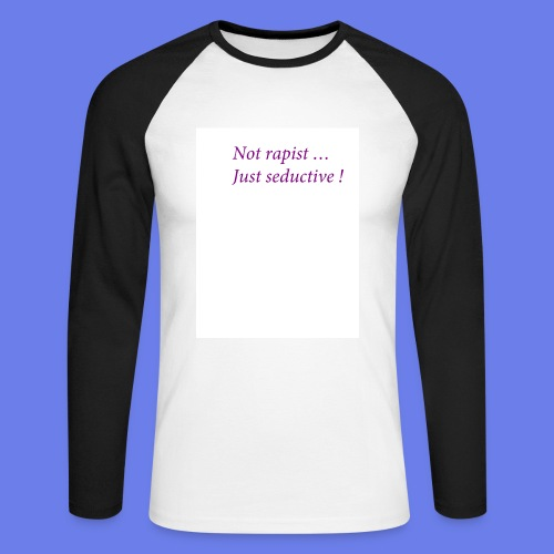 Seduc - T-shirt baseball manches longues Homme