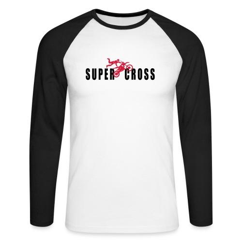 air Supercross - T-shirt baseball manches longues Homme