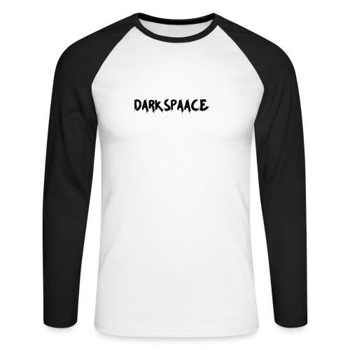 Habits & Accésoire - DarkSpaace Noir - T-shirt baseball manches longues Homme