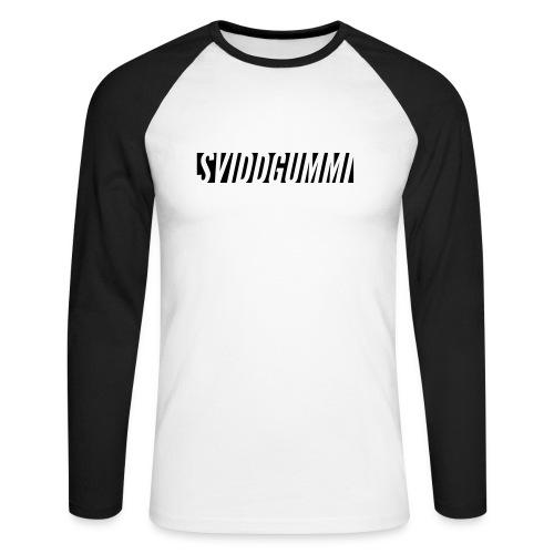 SG vintage t-shirt - Langermet baseball-skjorte for menn