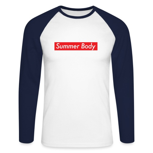Summer Body - T-shirt baseball manches longues Homme