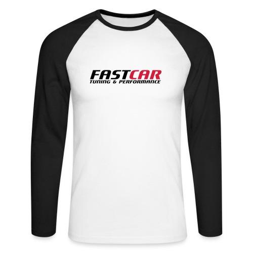 fastcar-eps - Långärmad basebolltröja herr