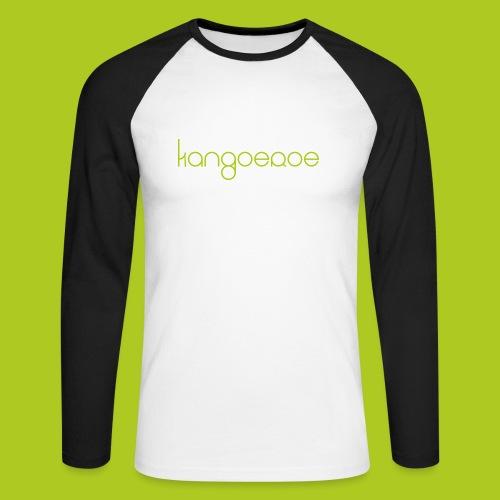 Green Kangoeroe design - T-shirt baseball manches longues Homme