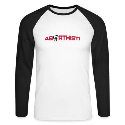 abarthisti no url - Langermet baseball-skjorte for menn