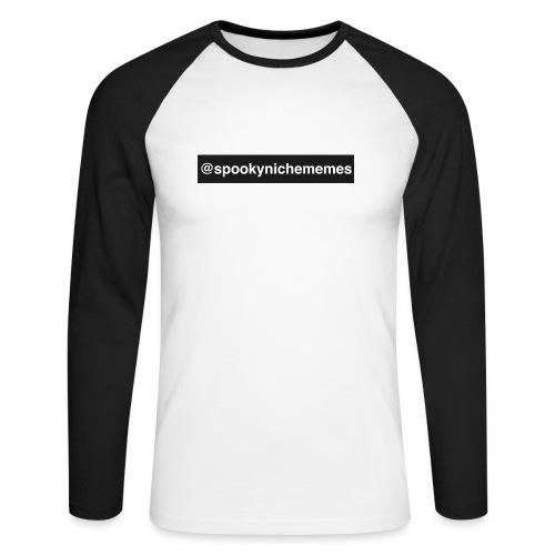 558FD51D F8D0 4401 8988 3F73F3E1B337 - Men's Long Sleeve Baseball T-Shirt
