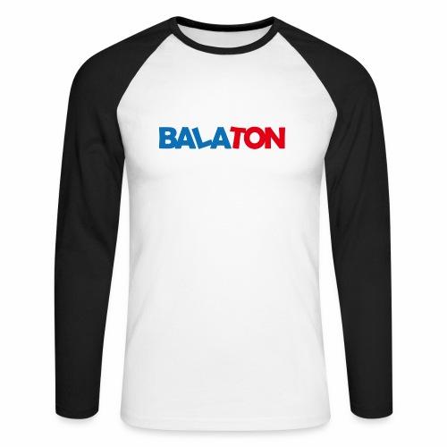 Balaton - Männer Baseballshirt langarm