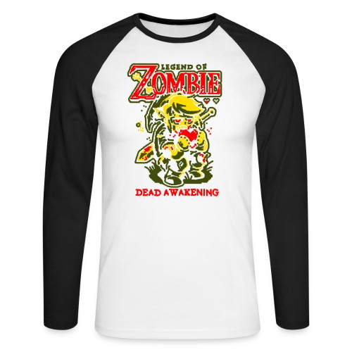 Legend of Zombie - T-shirt baseball manches longues Homme