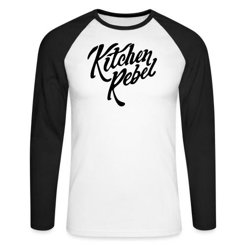 Kitchen Rebel - Men's Long Sleeve Baseball T-Shirt