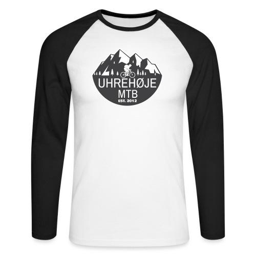 UhreHøje MTB - Langærmet herre-baseballshirt