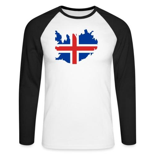 Iceland - Mannen baseballshirt lange mouw