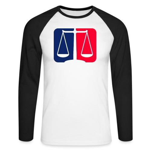 Logo2 - Männer Baseballshirt langarm