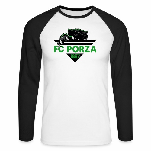 FC Porza 1 - Männer Baseballshirt langarm