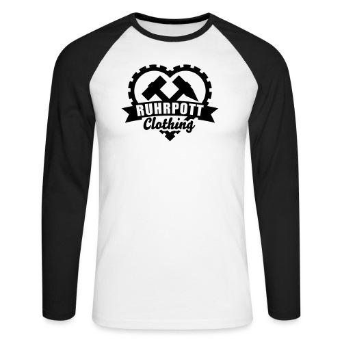 ruhrpott clothing 1c sw - Männer Baseballshirt langarm