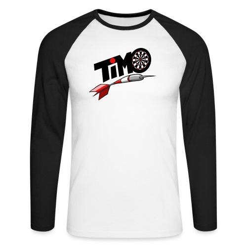 timoShirt druck - Männer Baseballshirt langarm