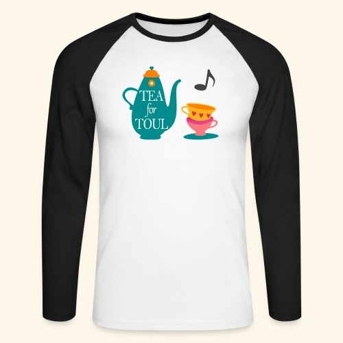 Tea for Toul - T-shirt baseball manches longues Homme