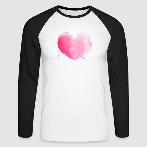 spread your love - Männer Baseballshirt langarm