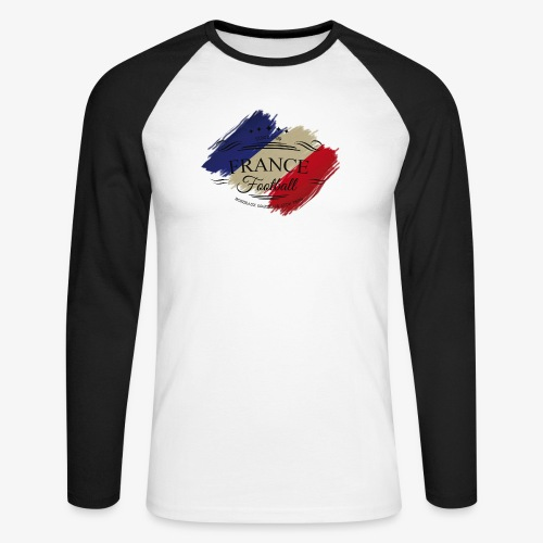 France Football - Männer Baseballshirt langarm